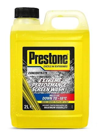 Líquido limpiaparabrisas Prestone PSCW0002A.: Amazon.es: Coche y moto