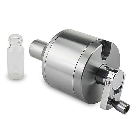 Formax420 Powder Spice Grinder Handmühle Trichter mit einem Glas Jar