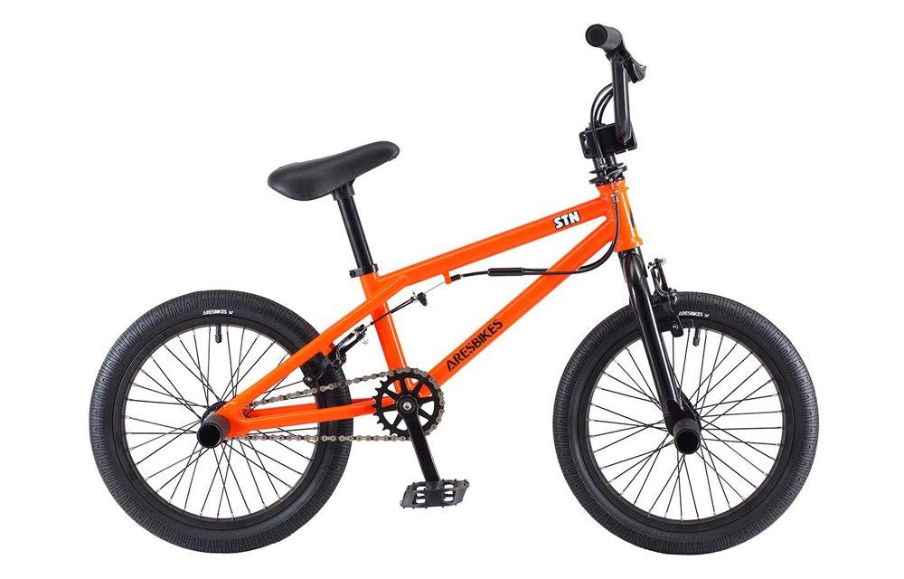 ARESBIKES アーレスバイクス STN KIDS BMX 16インチ オレンジ B07DYNR7R7
