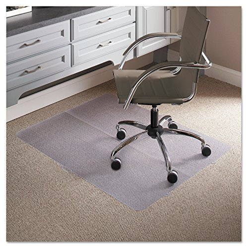 ES Robbins Foldable Series Mat, Rectangle, 36w x 48l, Clear