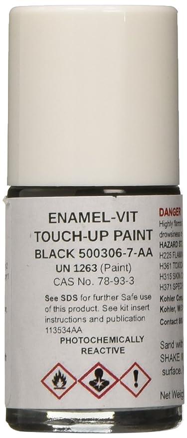 Amazon.com: Kohler K-500306-7 Black Touch-Up Paint Kit: Home Improvement