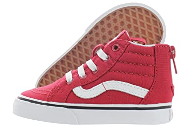 29a086f74a5 Vans Kids Boys  Sk8-Hi Zip (Toddler)