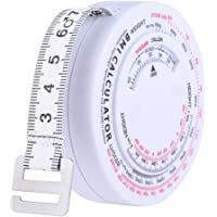 Anself 150cm Body Tape Mass Index Retractable Measurement Tape Body Accurate Calculator Diet Ruler