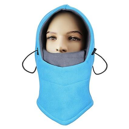 74ee8c3c1a1 ONEDONE Balaclava Mask Balaclava Windproof Ski Face Mask for Outdoor Ski  Bike Sports (Blue +