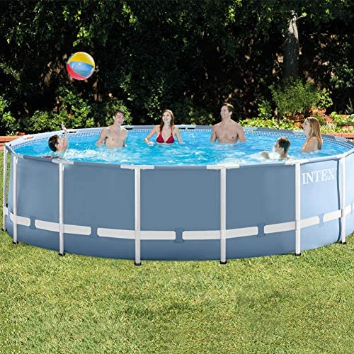 Piscina Intex Prisma Frame 457x122 cm - 16.805 litros: Amazon.es ...