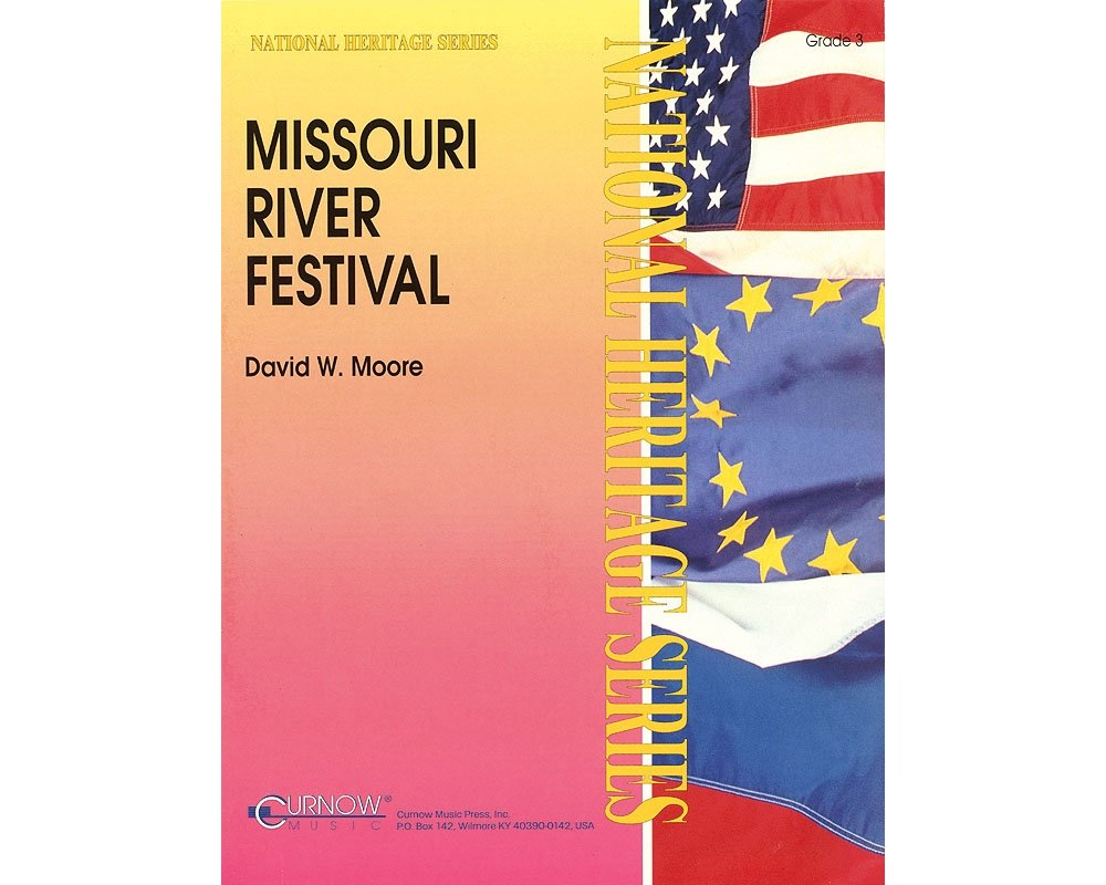 Curnow Music Missouri River Festival (Grade 3 - Score and Parts) Concert Band Level 3 Composed by David Moore PDF