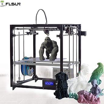 Amazon.com: FLSUN Cubo de tamaño grande DIY Kit de impresora ...
