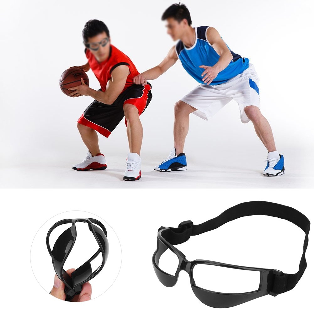 Tbest Basketball Dribble Goggles,Practical Basketball Head-up Training Glasses Dribbling Goggles Sport Basketball Eye Glass Goggles