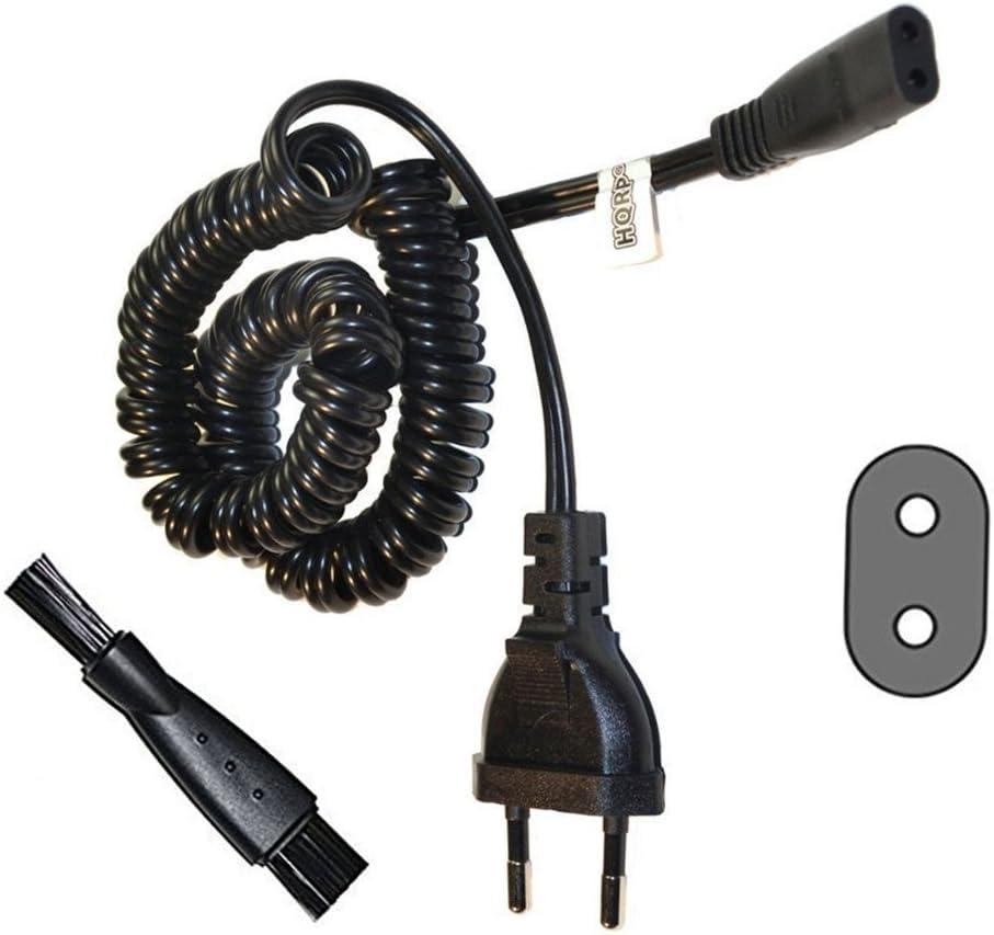 HQRP – Cable de alimentación CA para Philips hq4806, hq4807, hq481 ...