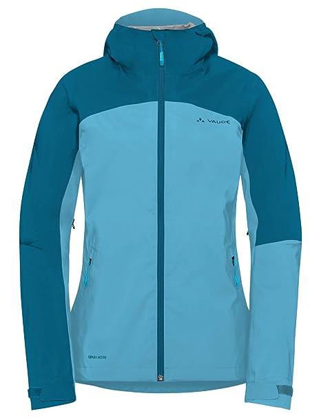 low priced b4708 c8e38 Vaude Damen Moab Rain Jacket Regenjacke für Mountainbikerinnen Jacke