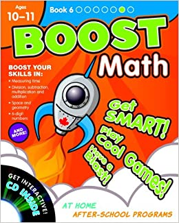 BOOST Math - Book 6 with CD-ROM (Ages 10-11): Amazon.ca: Pearson Canada:  Books