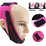 Thin Face Bandage Face Slimmer Get Rid Of Double Chin Create V-Line Face Shapes Chin Cheek Lift Up Anti Wrinkle Lifting…