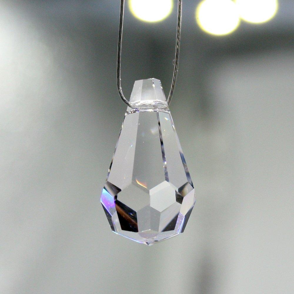 Christoph Palme Leuchten Set 50 Piezas Cuentas Piñas y Cristal con Hilos 30% Plomo Arco Iris Cristal para Colgar para Feng Shui, para Bisutería y ...