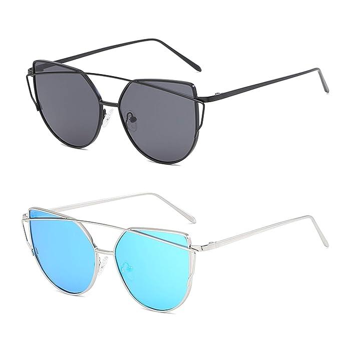 Amazon.com: YOSHYA Gafas de sol retro vintage estrecho ojo ...