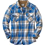 Legendary Whitetails Men's Shotgun Western Flannel Liberty Small