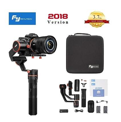 Feiyu A1000 FeiyuTech A1000 cardán de 3 ejes, compatible con Nikon ...