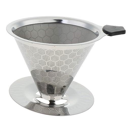 Filtro Permanente para Cafetera Cesto de Filtro Reutilizable ...