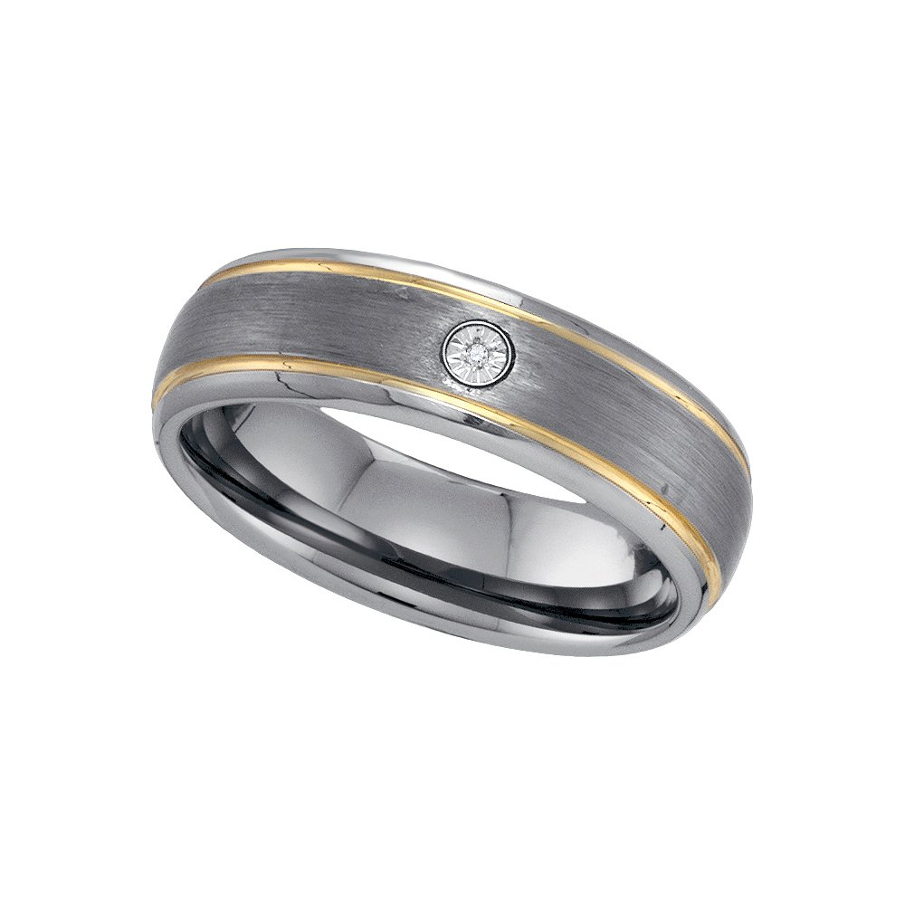 DIAMOND TUNGSTEN BAND-S12.5