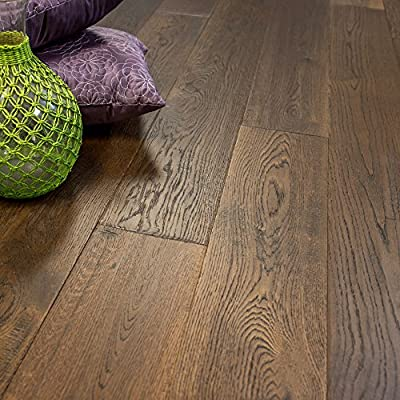 French Oak Prefinished Engineered Wood Floor, Colorado, 1 Box, by Hurst Hardwoods