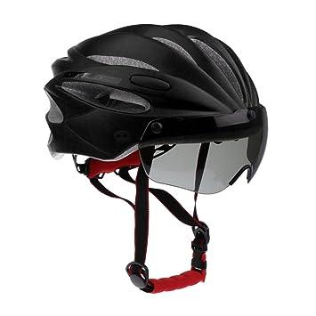 Magideal Vtt Vélo De Route Motocyclette Casque De Sécurité Avec