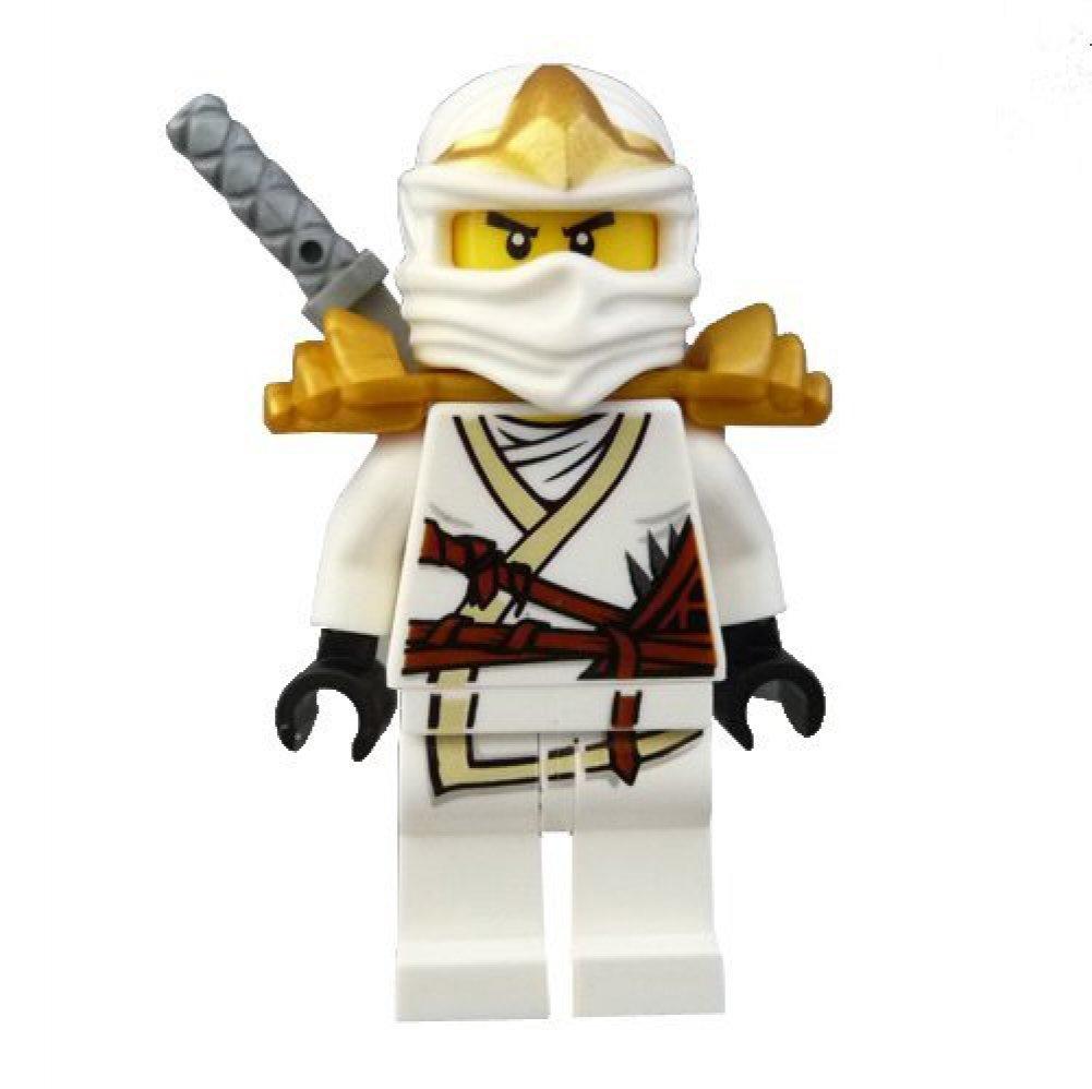 Lego Ninjago Zane ZX Minifigure with Armor and Katana ...