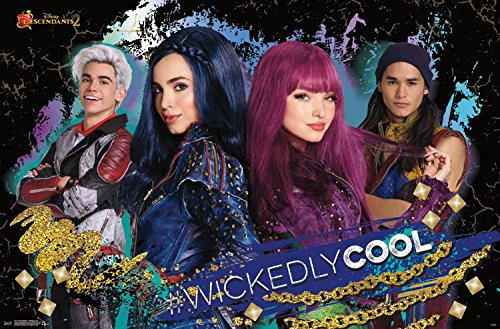 Trends International Wall Poster Descendants 2 Wickedly Cool, 22.375