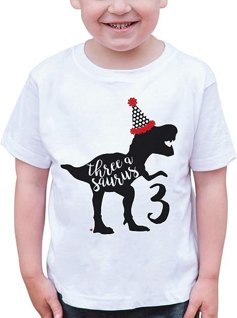 7 ate 9 Apparel Girls Sister Dinosaur Grey T-Shirt