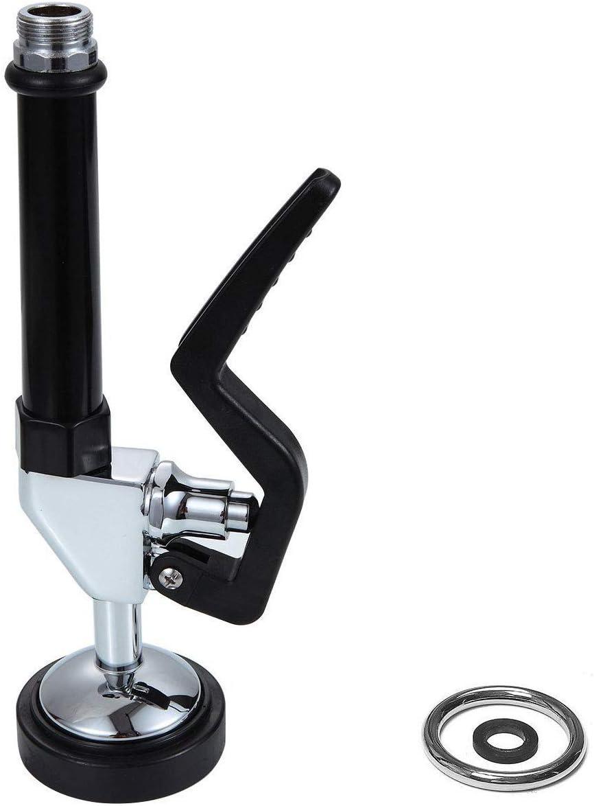cromo pulido Grifos de fregadero de cocina POUGEO con doble asa montaje de lat/ón