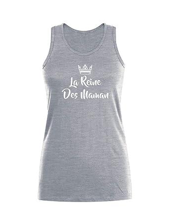 8938e0db640de Green Turtle T-Shirts La Reine des Mamans - Fête des MèresDébardeur Femme:  Amazon.fr: Vêtements et accessoires