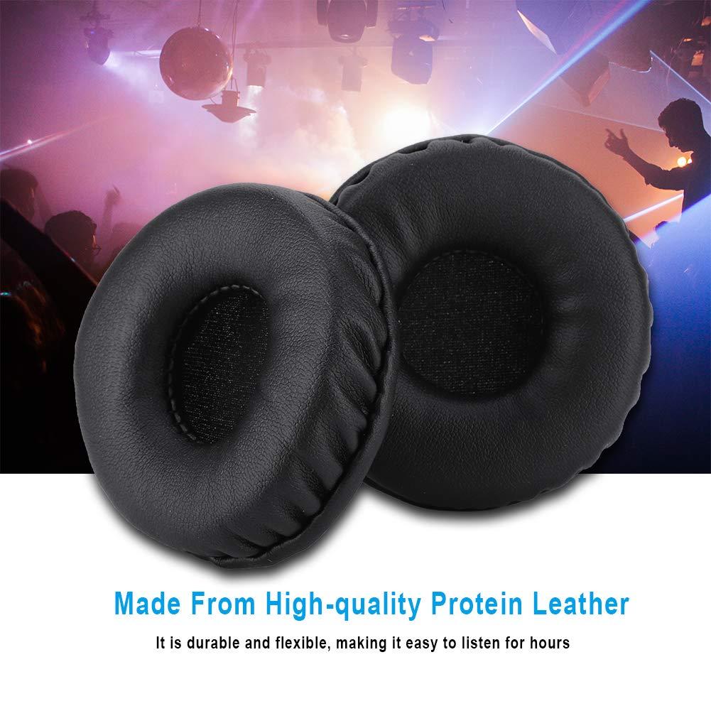 70mm Universal Reemplazo Almohadillas para los O/ídos Espuma Suave Coj/ín Auricular Funda Auriculares Orejeras Durable Suavemente Suave Filtro Impurezas de Sonido Dise/ño Ergon/ómico