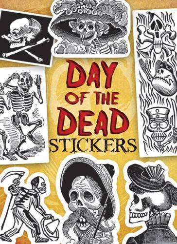 Day of the Dead Stickers (Dover Stickers)