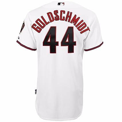 1b3593e1 authentic majestic paul goldschmidt arizona diamondbacks mlb mens white  authentic on field cool base jersey 22da8