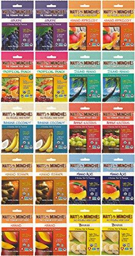 Matt's Munchies Premium Organic Fruit Snack Variety Pack