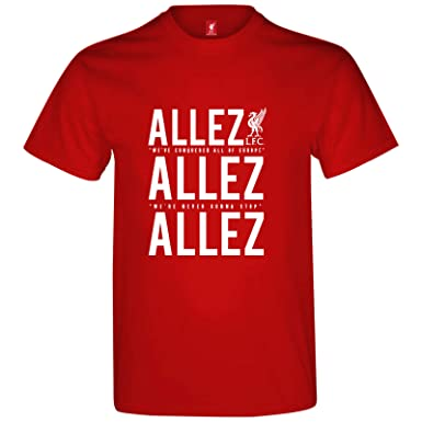 Liverpool FC - Camiseta Oficial para Hombre/niño - Final de la ...
