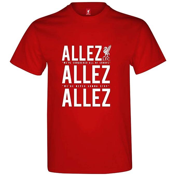 Amazon.com: Liverpool FC - Camiseta oficial de la Liga de ...