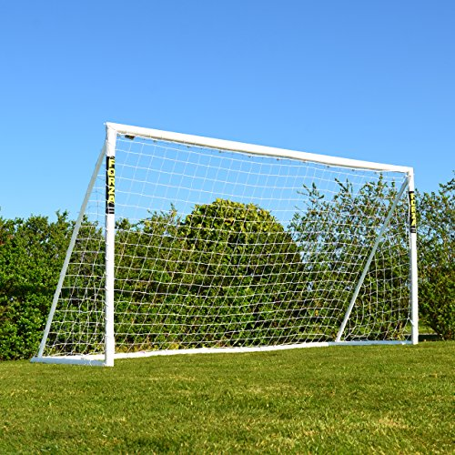 FORZA Soccer Goal (New & Improved Model!) - The Best Backyard Soccer Goal! [Net World Sports] (12 x 6 foot) by Forza