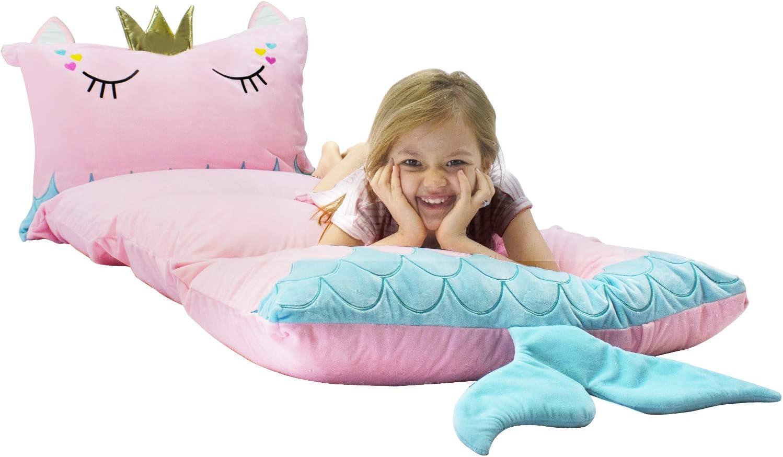 Yoweenton Mermaid kids floor pillows