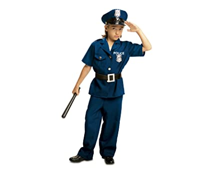 My Other Me Me Me - Disfraz de Policía para niño, talla 7-9 años (Viving Costumes MOM00934)