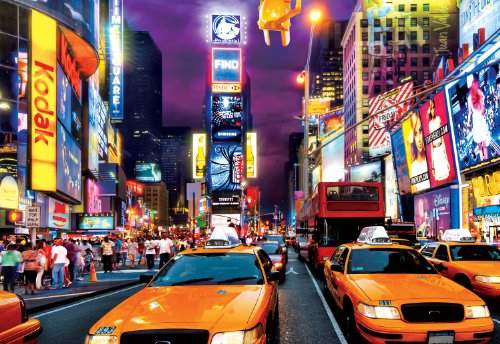 Buffalo Games - Times Square - 1000 Large Piece Jigsaw Puzzle