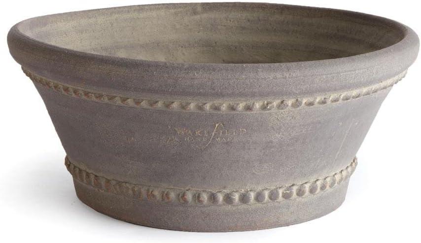 Wakefield Round Pot Planter Color: Gray