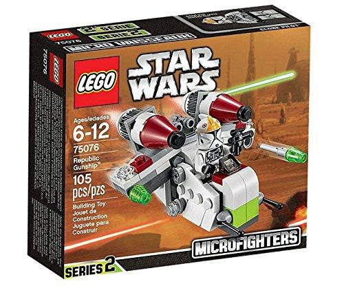 Lego star wars : microfighters republic gunship (75076)
