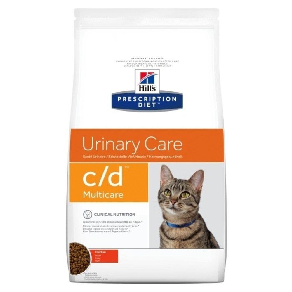Hill's - Hills Prescription Diet Feline C/D Multicare au poulet - 1,5kg