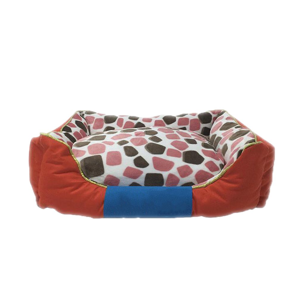 B 554516cmKennel GAOLILI Pet Cat House House Washable Dog House Dog Tent Puppy Cat Pomeranian Teddy Dog Room (color   A, Size   75  65  20cm)