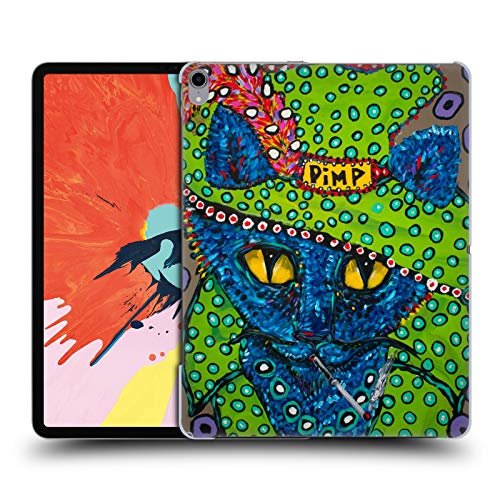 Official Mad Dog Art Gallery Pimp Kitty Cats Hard Back Case Compatible for iPad Pro 12.9 (2018)