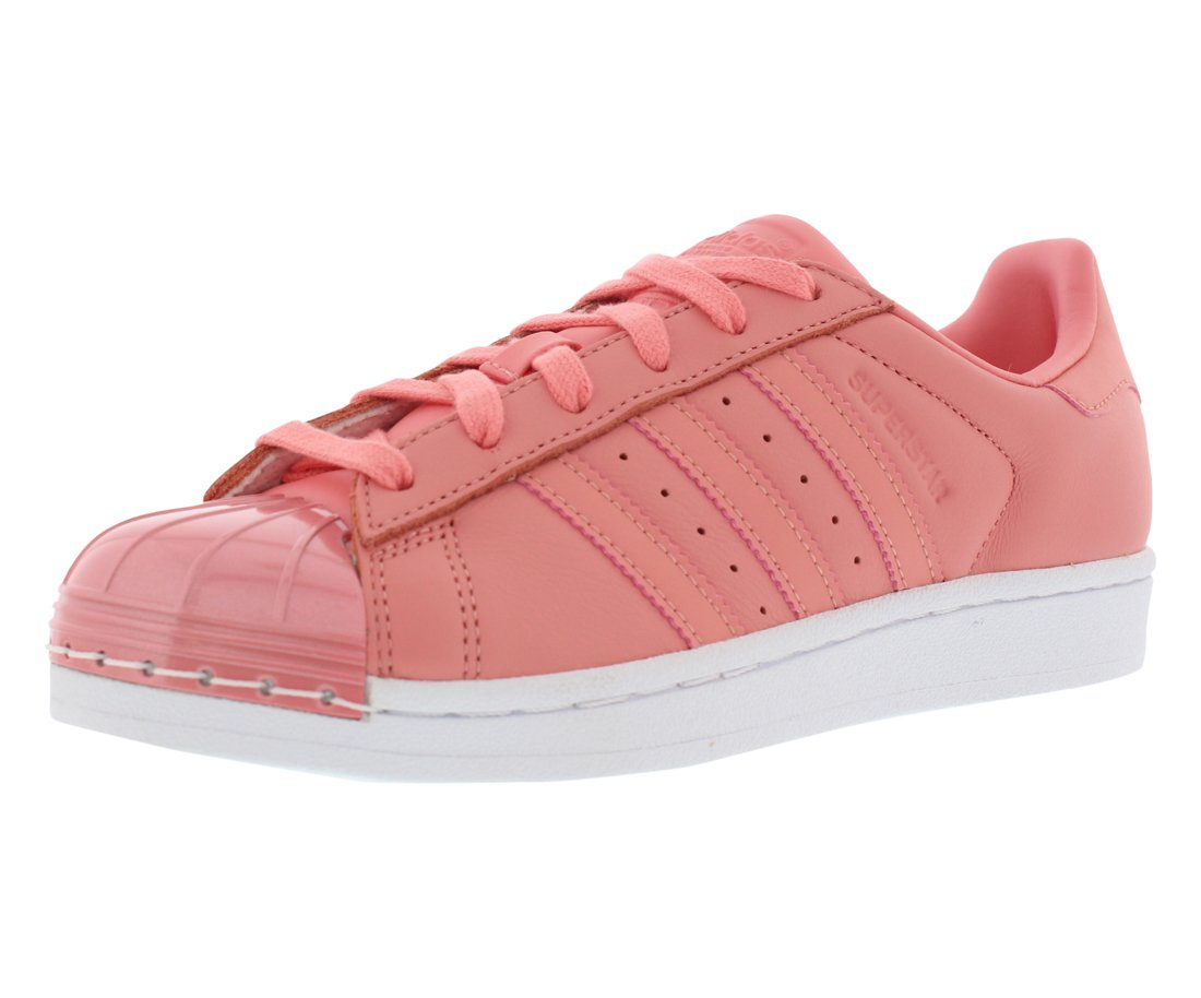 26668d53361 Galleon - Adidas Originals Women s Superstar Metal Toe W Skate Shoe Running  Tactile Rose White