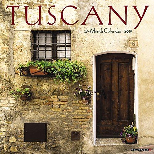 Tuscany 2019 Calendar