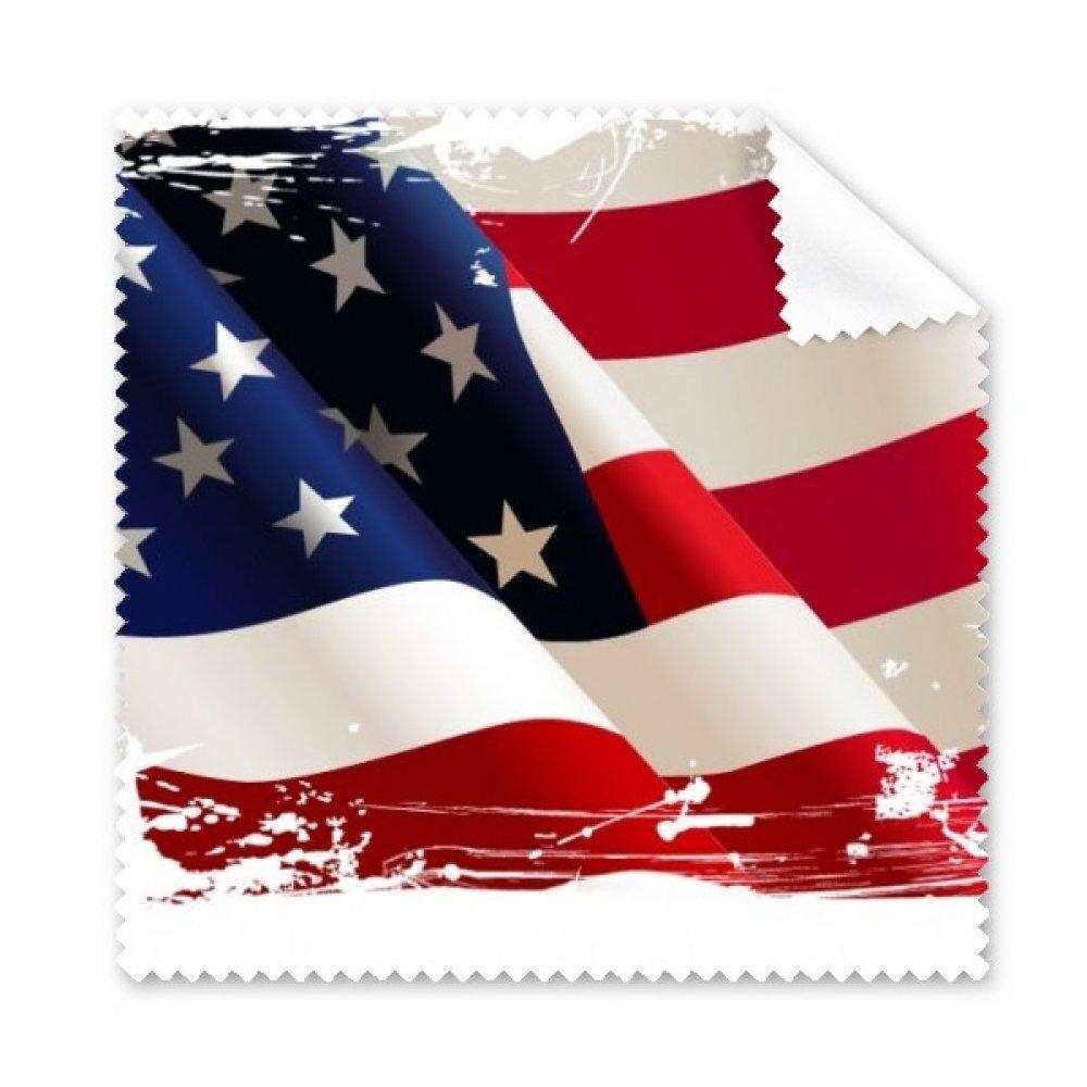 Air Brushing Stars and Stripesアメリカ国旗国Glasses布クリーニングクロスギフト電話画面クリーナー5点   B072FRNSHY