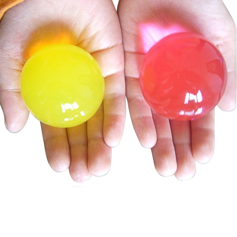 2 Bags of Large Sized Water Beads Grow In Water Ball Toy Vase Filler Gosear