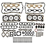 #7: Scitoo Head Gakset Kit with Bolts, for 2002-2006 Kia Sedona Sorento 3.5L V6 DOHC Engine Head gaskets Automotive Gaskets Replacement kits