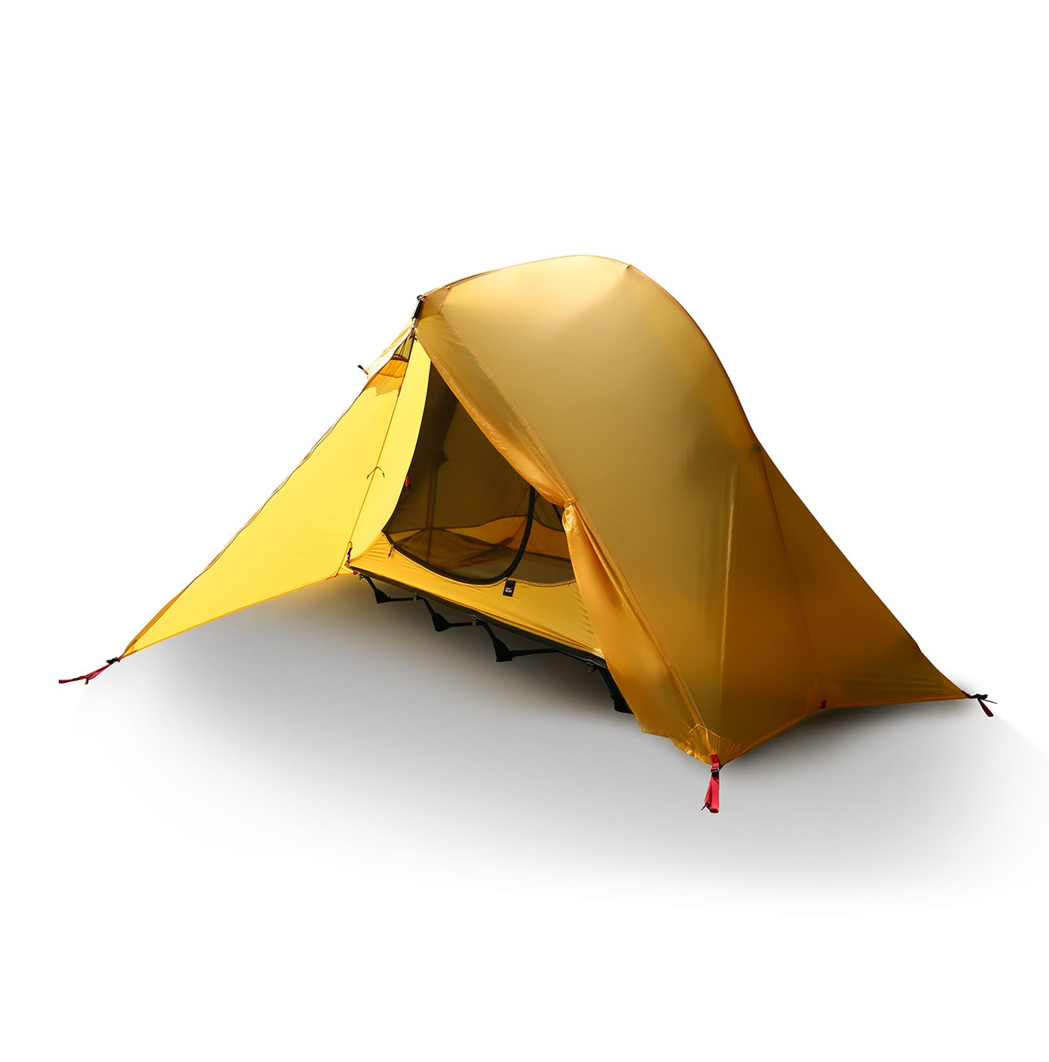 OUTAD Camping tents 15D nylon double-sided silicone tents Portable Multifunctional Off Ground Tent by OUTAD (Image #1)